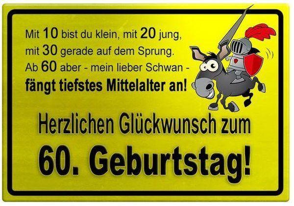 Lustige Geburtstagswunsche 60 Jahre Luxury Gluckwunsche Zum 60