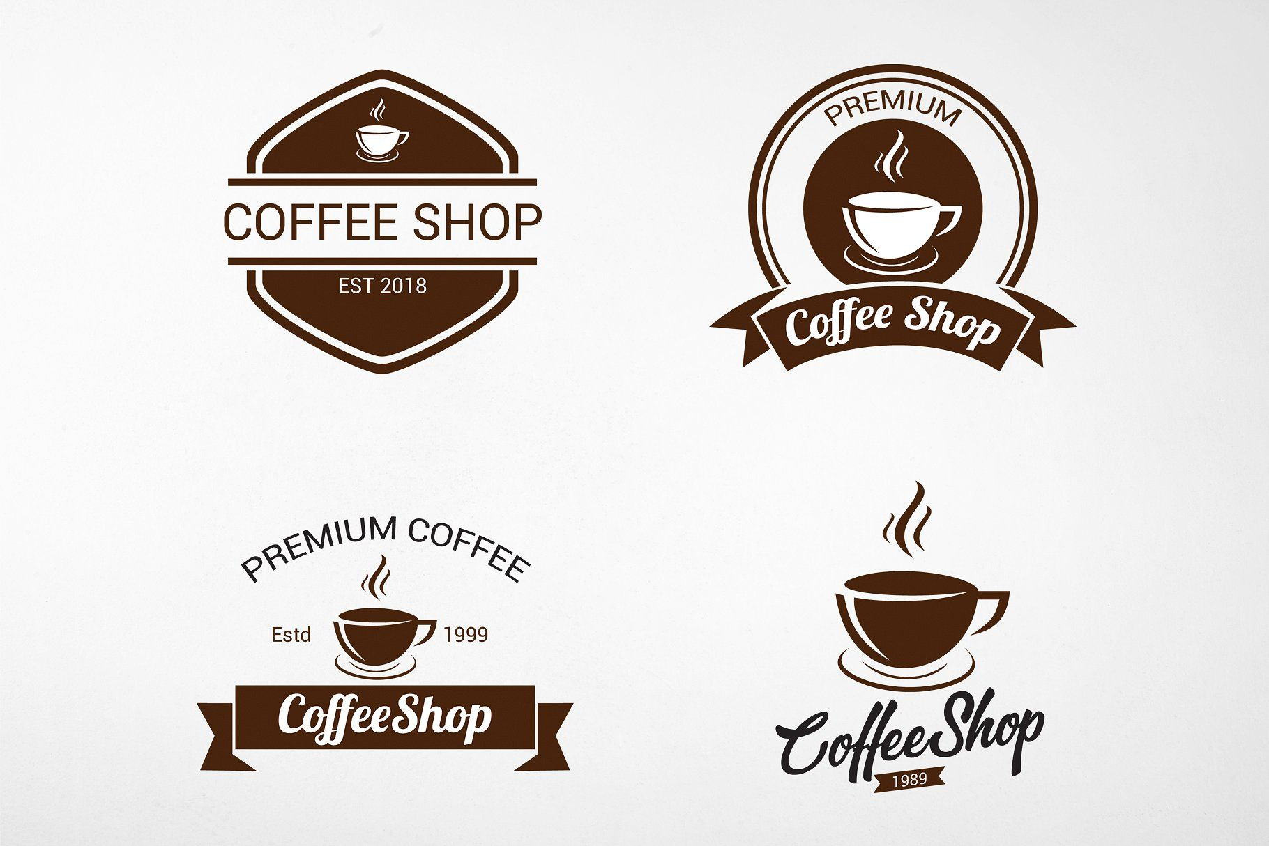 Vintage Coffee Logo And Badges With Images Coffee Logo Coffee