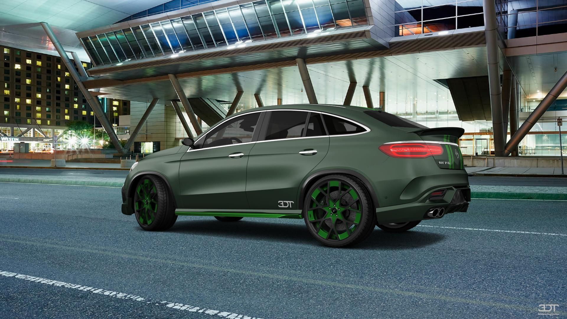 Checkout my tuning Mercedes GLE 2016 at 3DTuning 3dtuning tuning