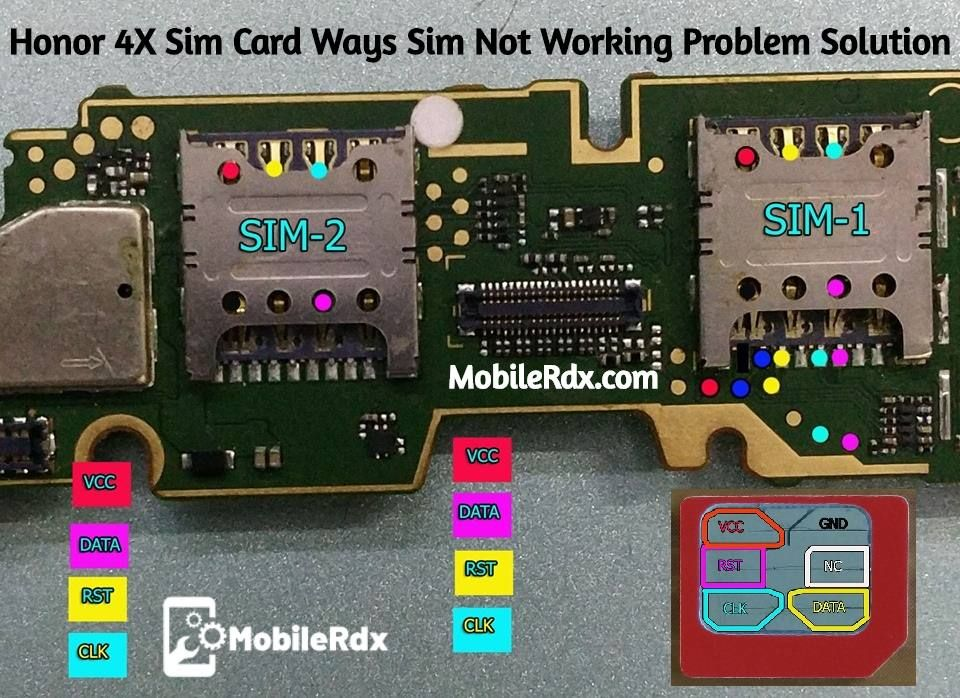 Honor 4x Sim Card Ways Sim Not Working Problem Solution Problem And Solution Mobile Tricks Sims