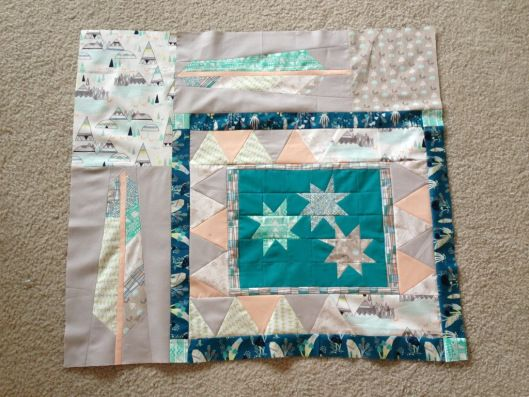 Charity Indian Summer Quilt....or at least the start of one!