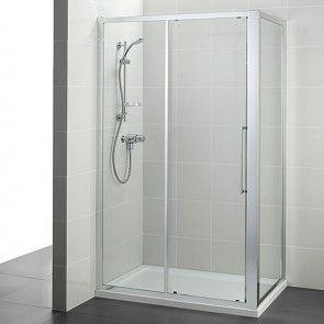 Ideal Standard Kubo Slider Corner Shower Door 1000mm T7378eo Shower Enclosure Slider Door Corner Shower