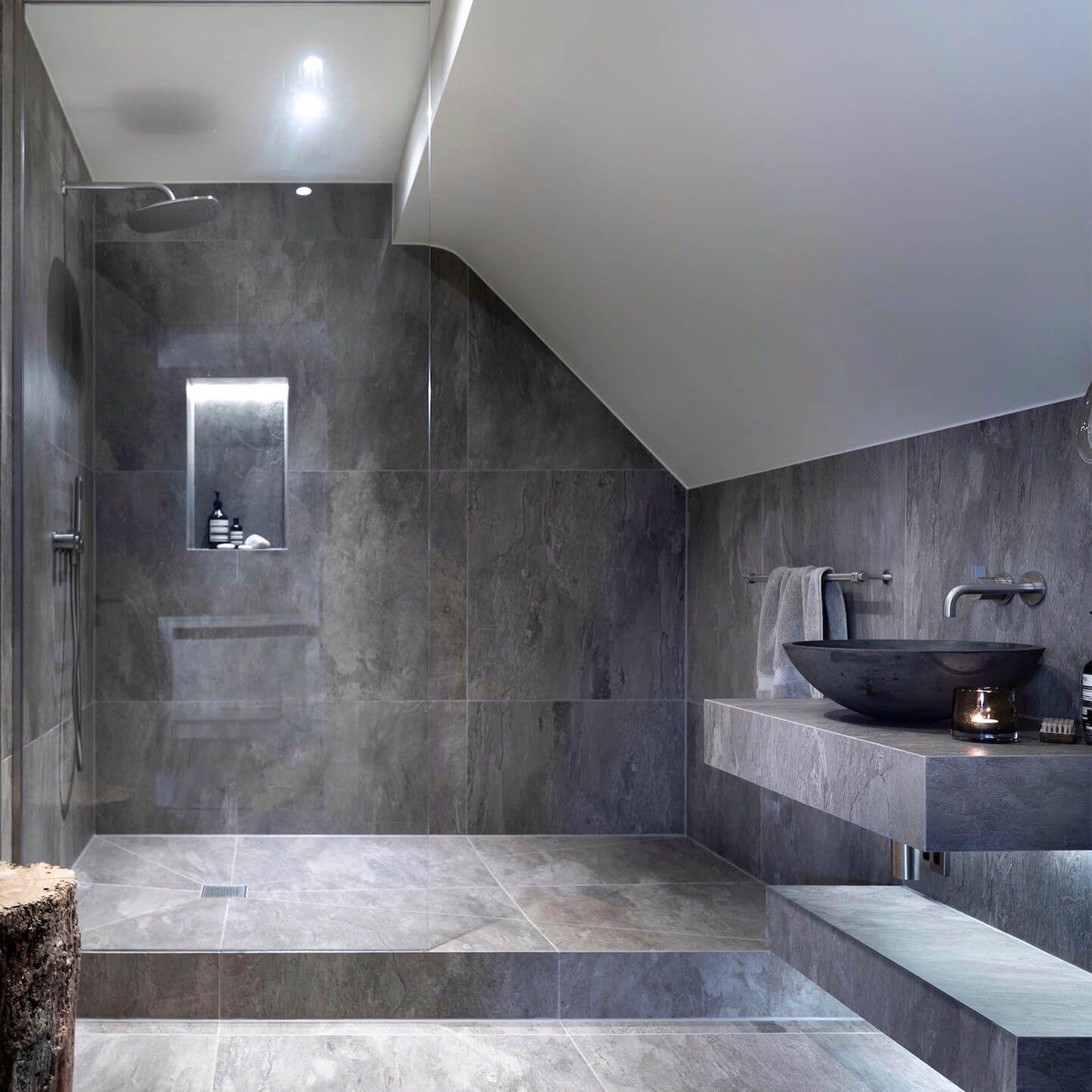 Loft Apartment On Windermere Bathroom Design Luxury Bathroom Tile Designs Modern Bathroom