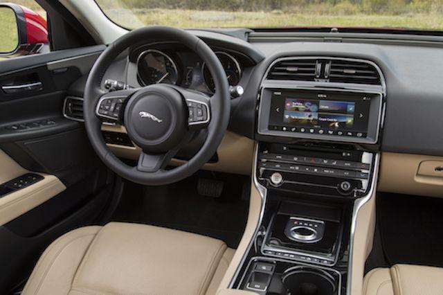 The Jaguar XE Interior Lives Up To Jaguar Expectations, Including Optional  Wood.