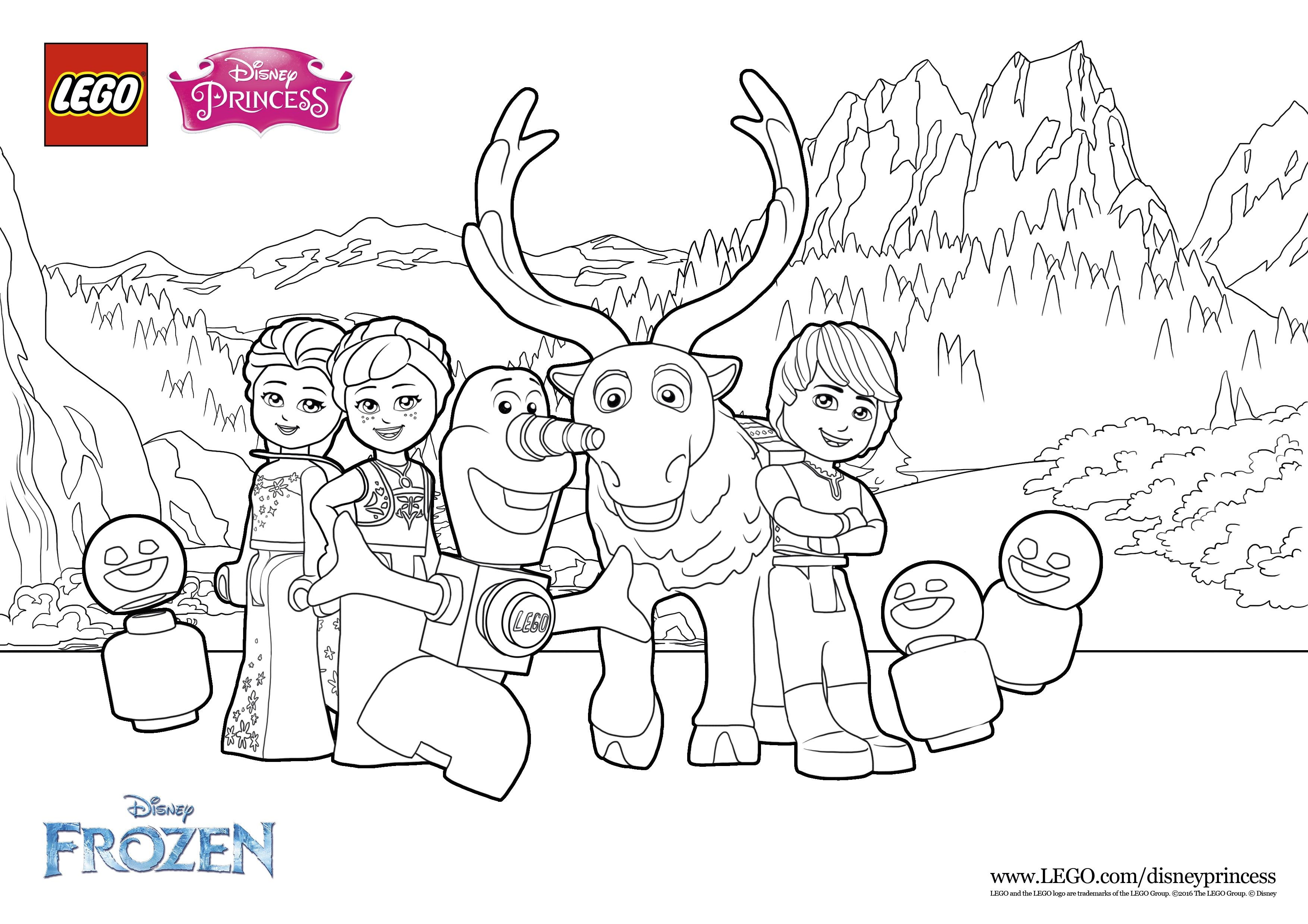 And More Coloring Fun With Olaf His Friends For You To Print See The Funny Video On Lego Lego Coloring Pages Lego Movie Coloring Pages Frozen Coloring Pages