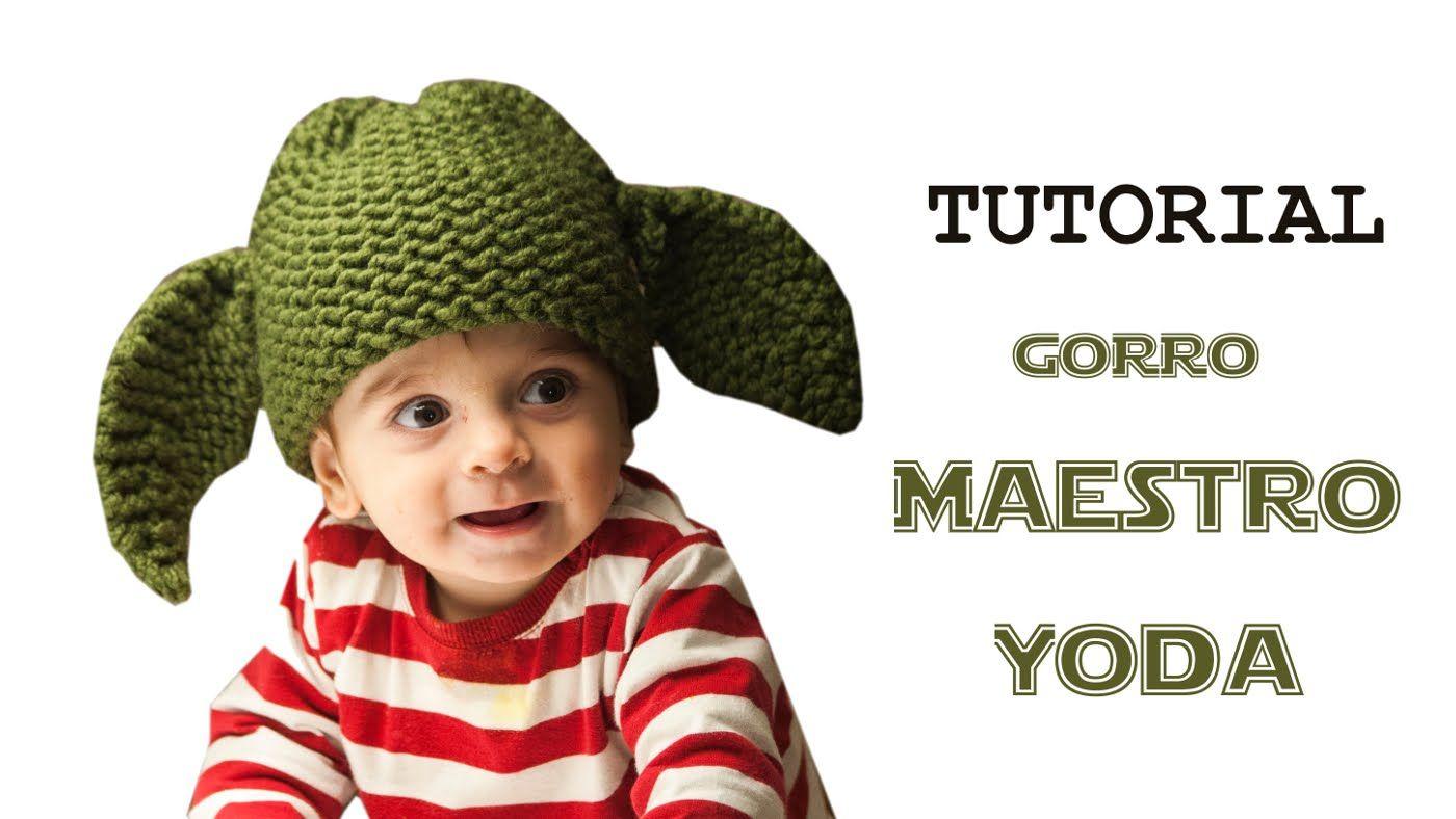 Cómo tejer un gorro de maestro Yoda de Star Wars con telar (Tutorial ...