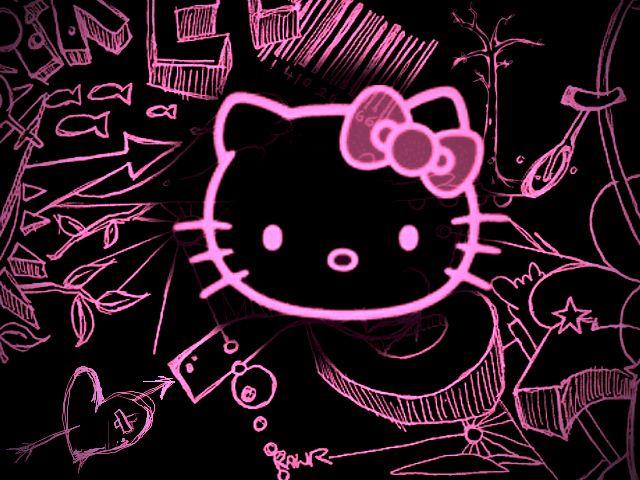 Emo Anime Wallpaper Hello Kitty Backgrounds Hello Kitty