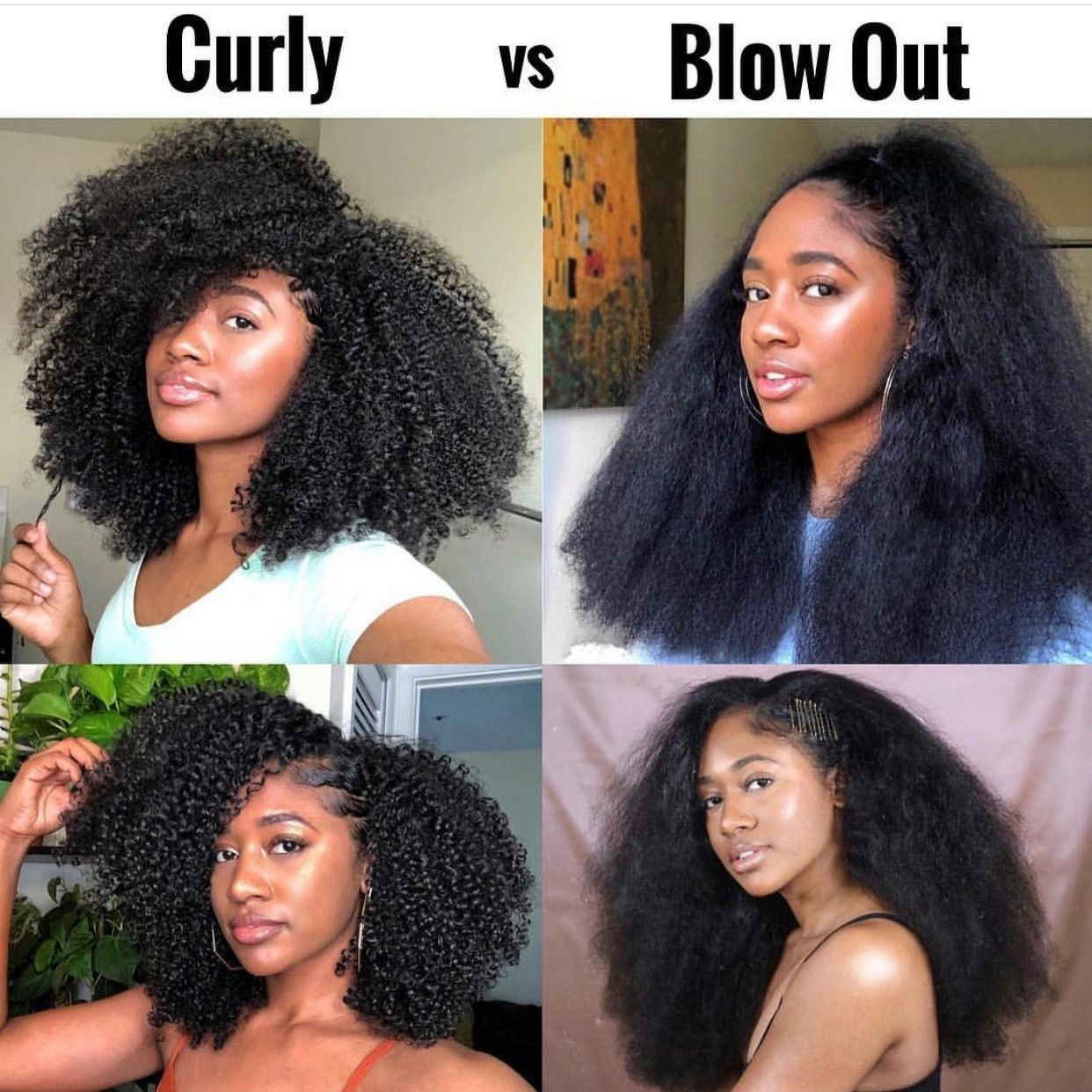 Pin by ️️ A H G ️️ on Ebony's Glory   Natural hair styles ...