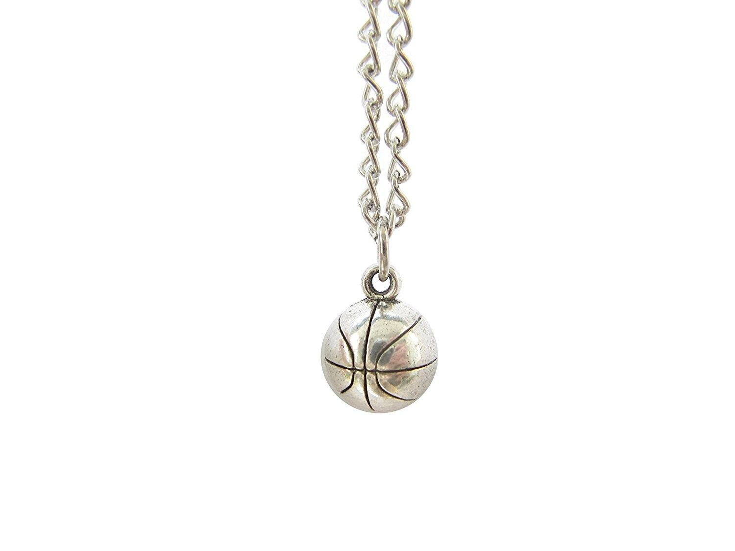 Basketball necklace pendant jewelry player chruzd in