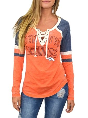 denver broncos tops for women