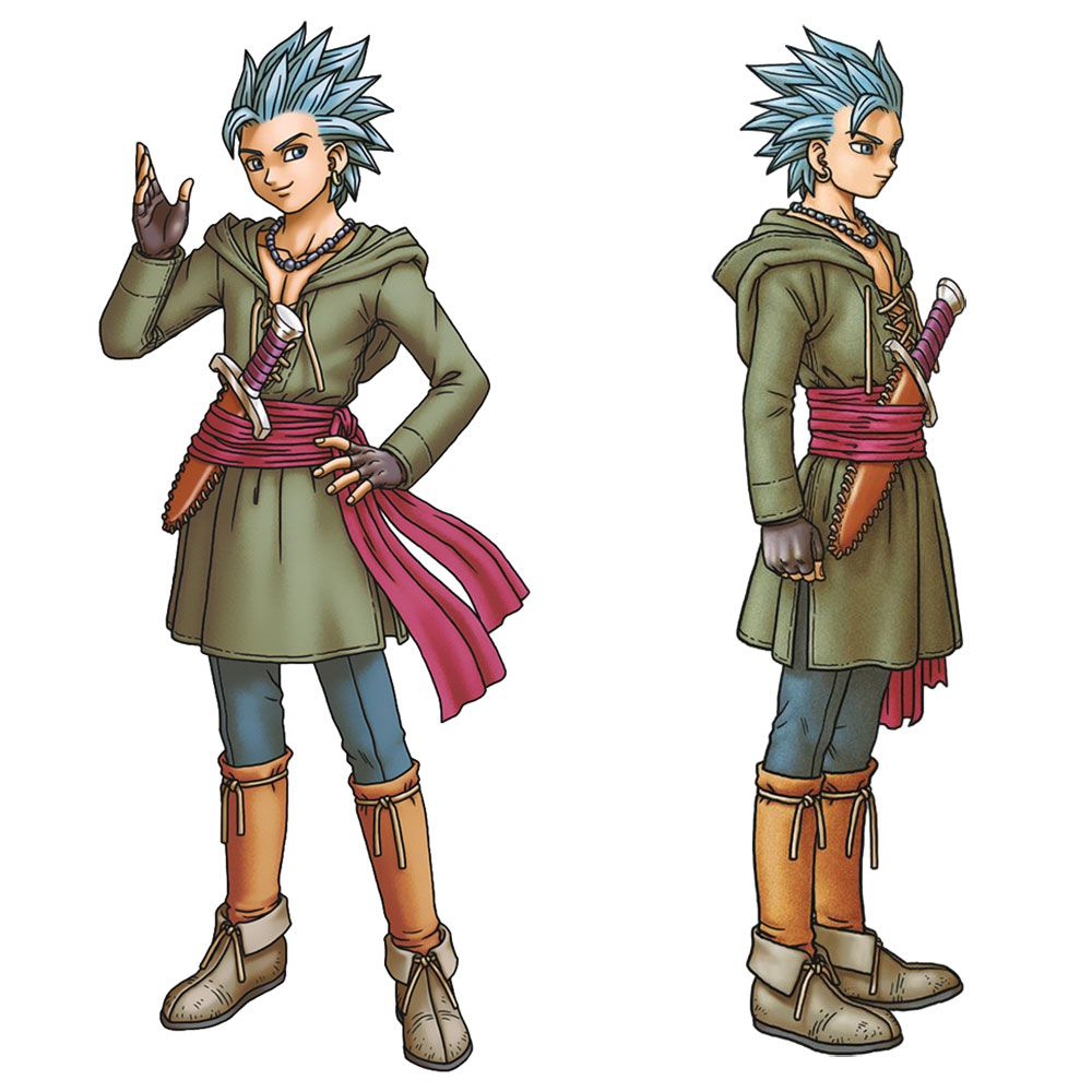 Dragon Quest Xi Concept Art