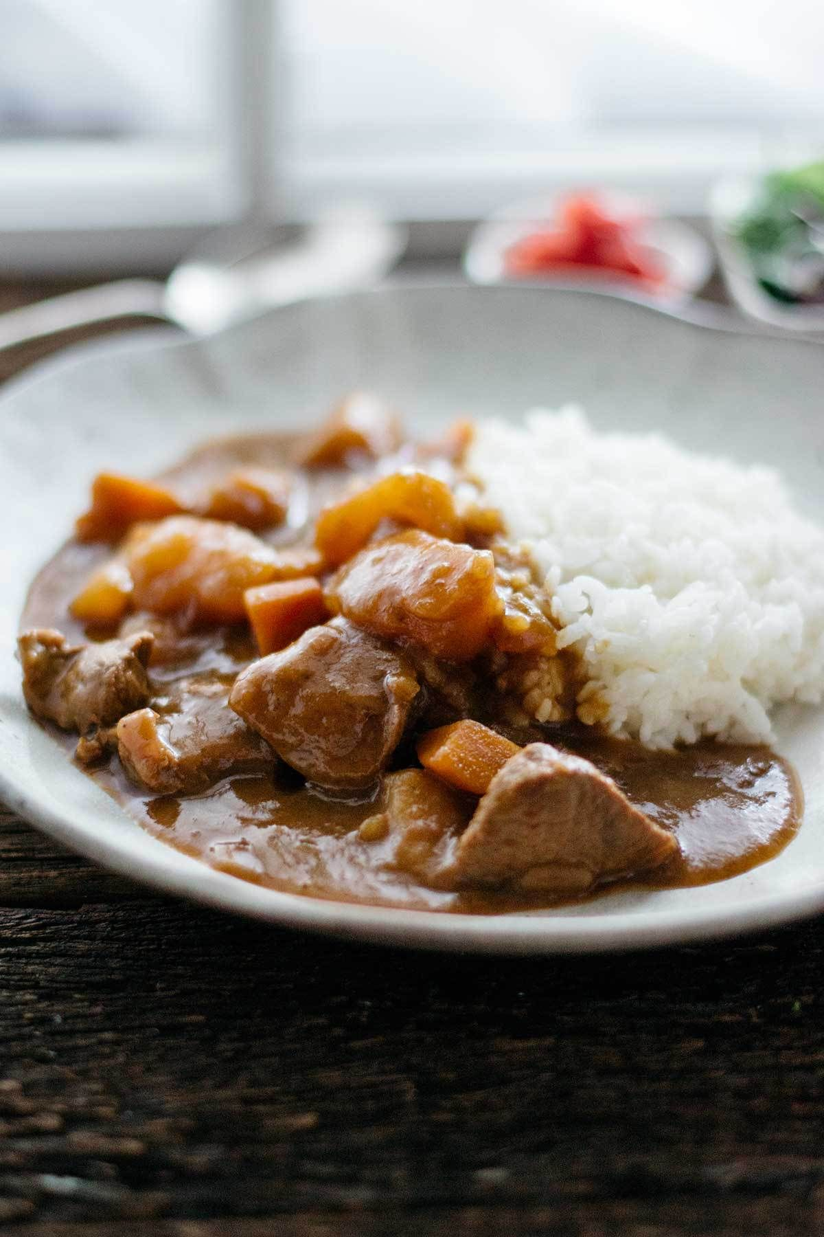 Japanese Beef Curry Rice Chopstick Chronicles Recipe Japanese Beef Beef Curry Curry
