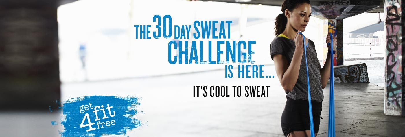 Sweaty Betty S Get Fit 4 Free Campaign Fitness Galore Get Fit September Fitness Challenge Home Workout Videos