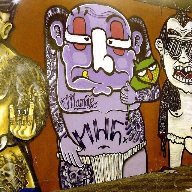Chivitz + Minhau detail, São Paulo, 5/15 (LP)