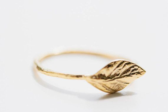 diamond rings dileri leaf ring