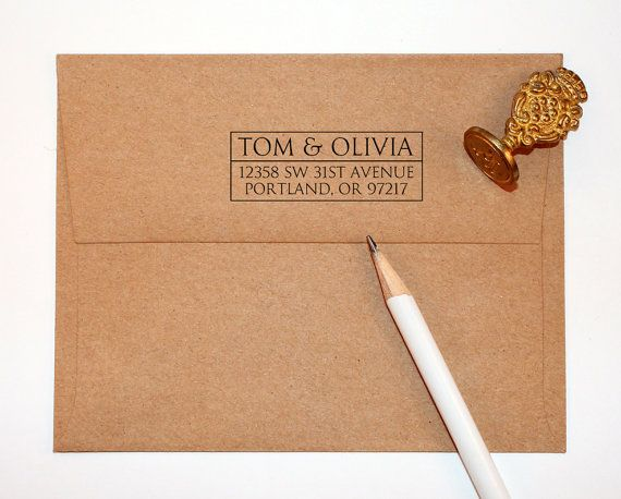 Pre Inked stamp Self Inking Stamp CUSTOM address STAMP from USA Return Address Stamp with proof Custom Wedding Stamp rb5-16 rsvp stamp