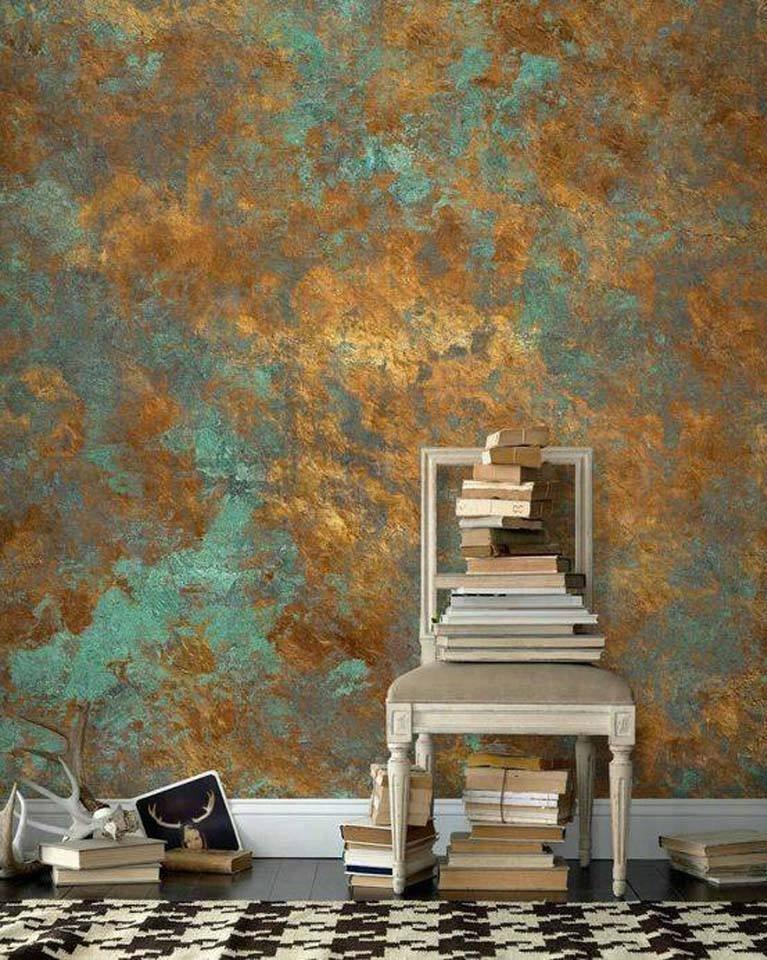 Dekoratif Duvar Boyama Teknikleri Google Arama 2020 Klasik Dekorasyon Mural Painting