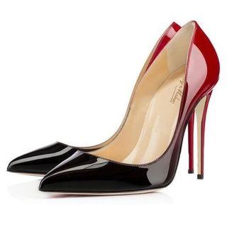CLARE Red Elegant unique Chic Stiletto Strappy pointed high Heels Sandals