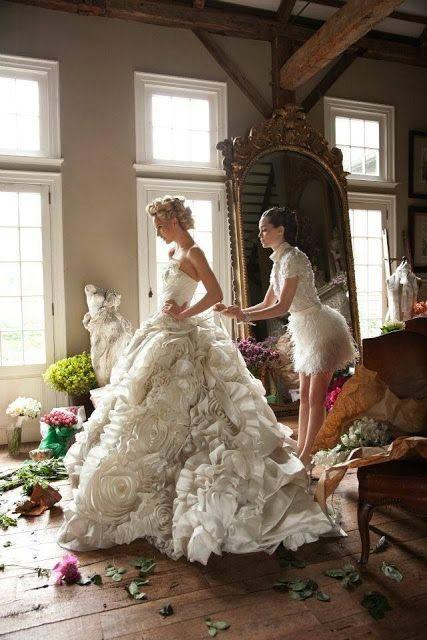 #Duchesse Linie #Brautkleider