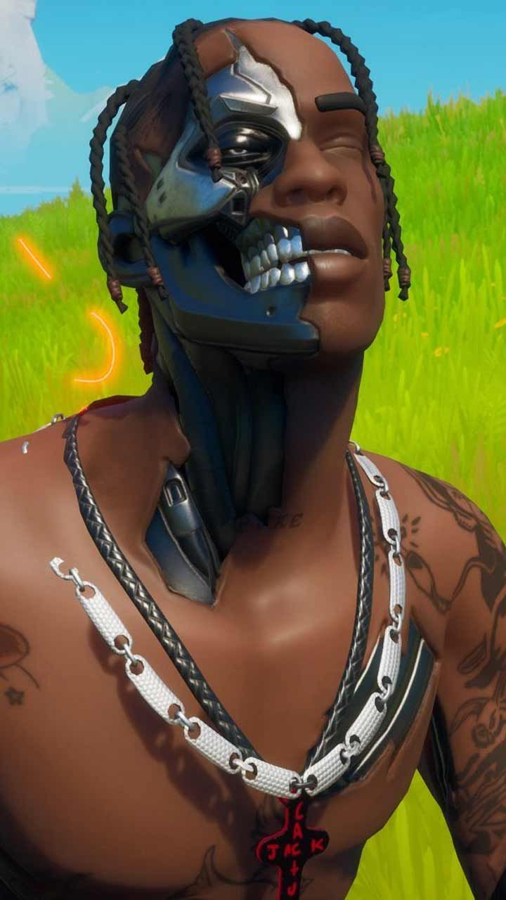 Travis Scott Fortnite Skin Wallpaper Hd Phone Backgrounds Art Poster For Iphone Android Home Screen In 2020 Travis Scott Wallpapers Hd Phone Backgrounds Travis Scott