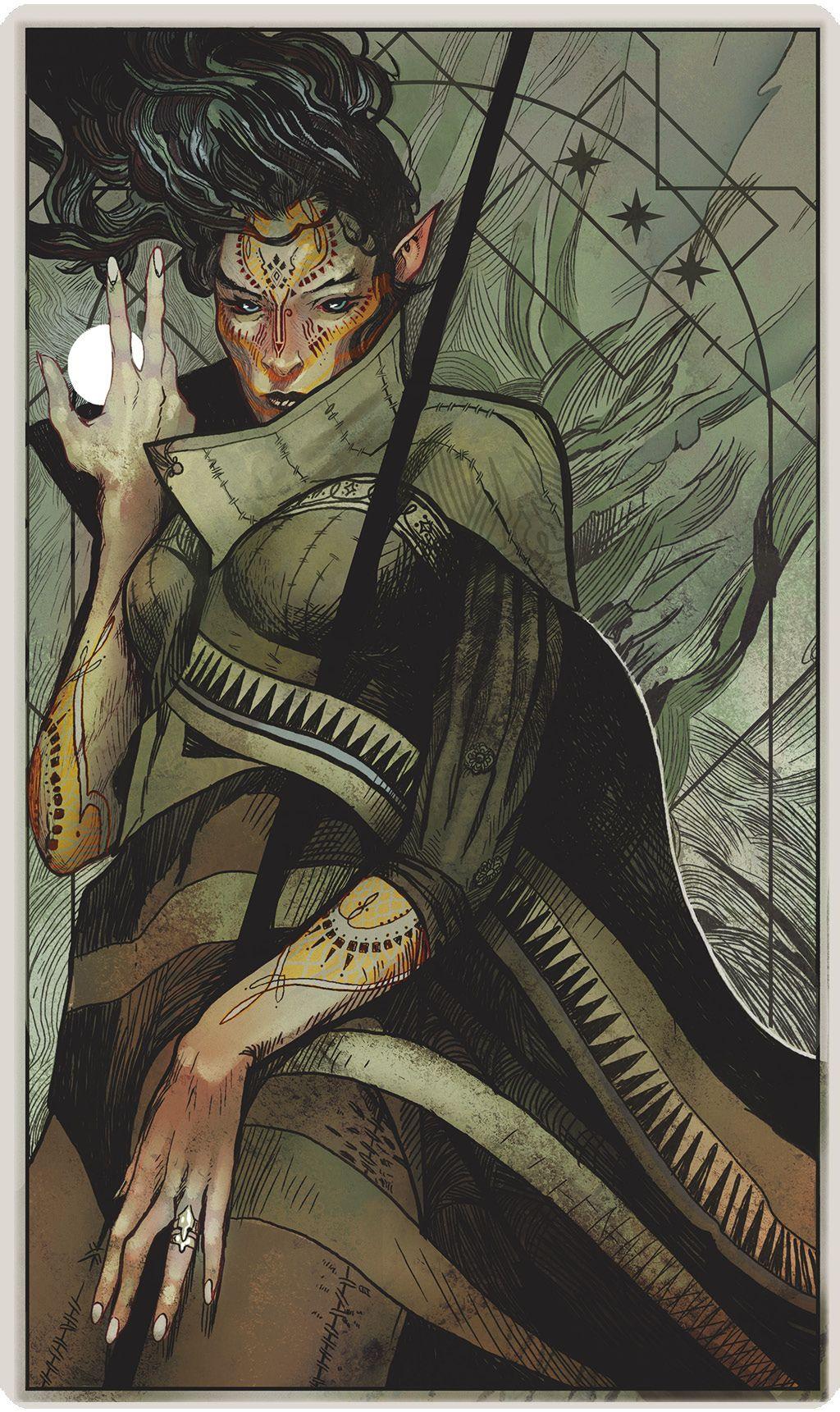 Dragon Age Inquisition Tarot In 2020 Dragon Age Dragon Age