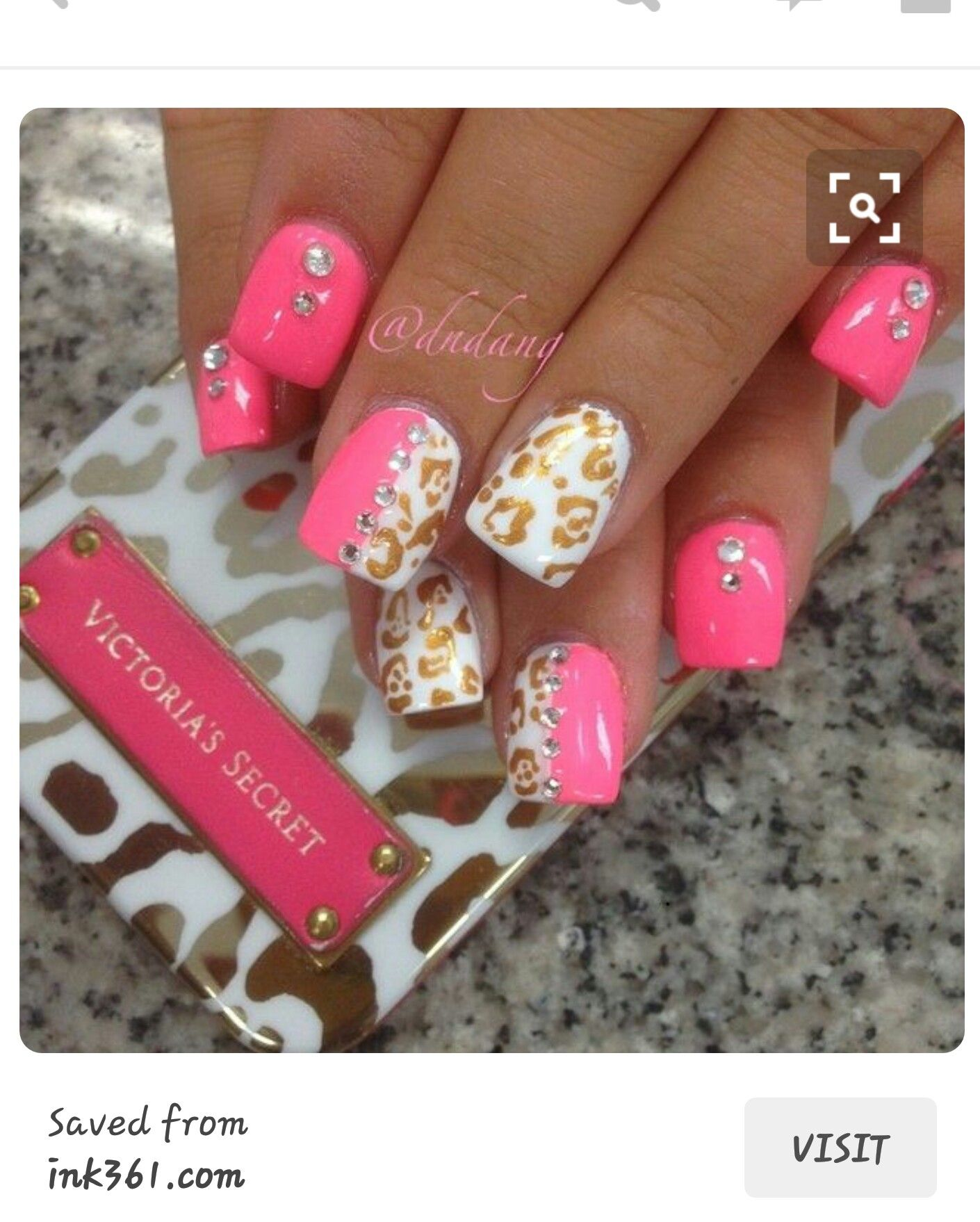 Pin By Mallory Lumsden On Nails Pinterest Short Nails Diva