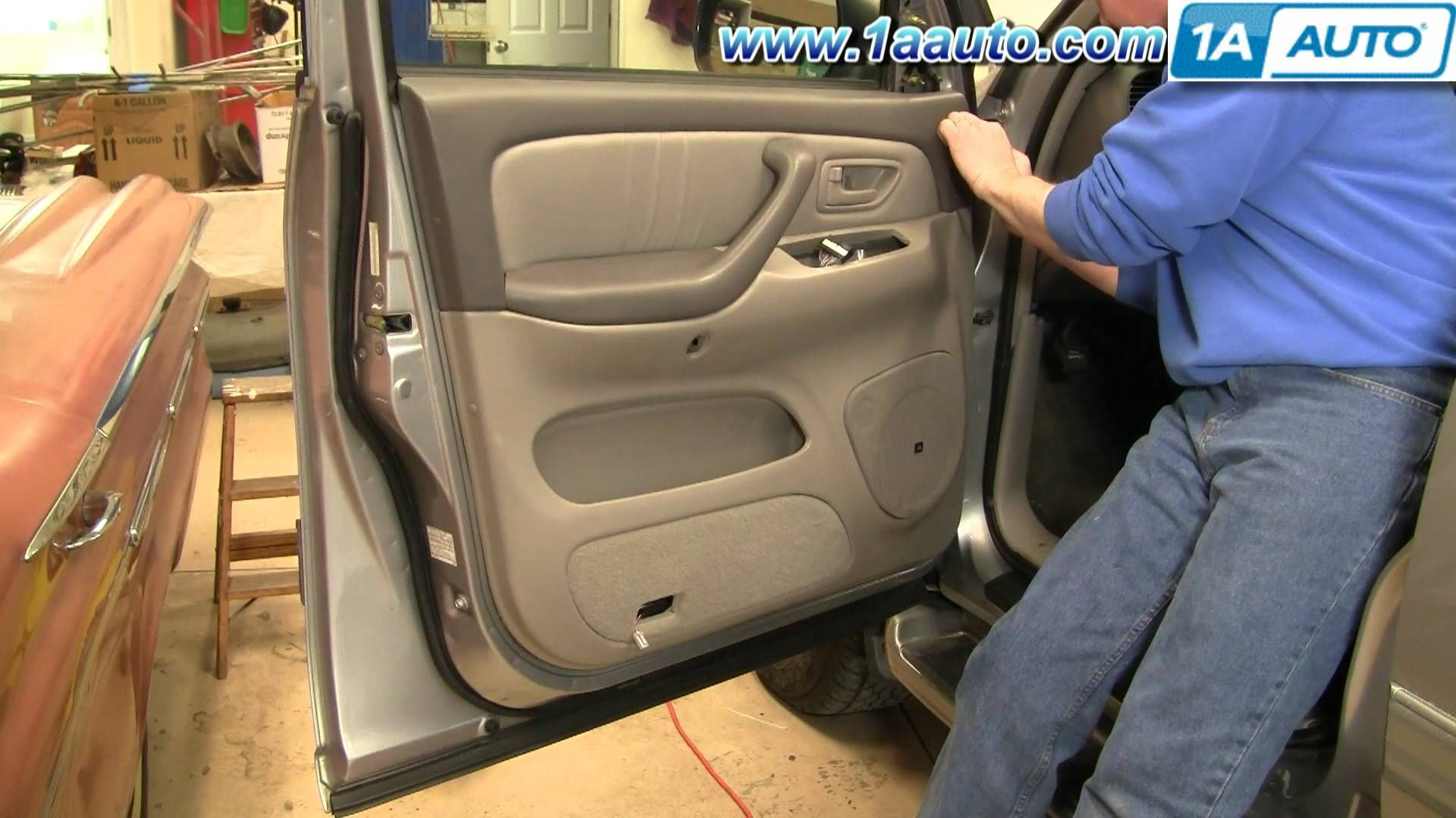 How To Install Replace Remove Door Panel Toyota Sequoia 01 04 1aauto Com 20181009 Barn Doors Not Just For Barns Anymore Panel Doors Toyota Replace Door
