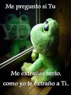 Frases Bonitas Para Facebook Te Extrano Tanto Cute Love Images Funny Spanish Memes Love Phrases