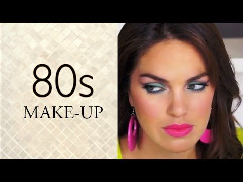 80 S Makeup 80s Makeup Tutorial 80s Makeup 80s Eye Makeup