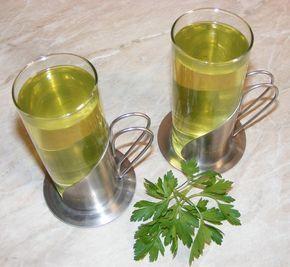 Ceai de patrunjel verde | mymamaluvs.com