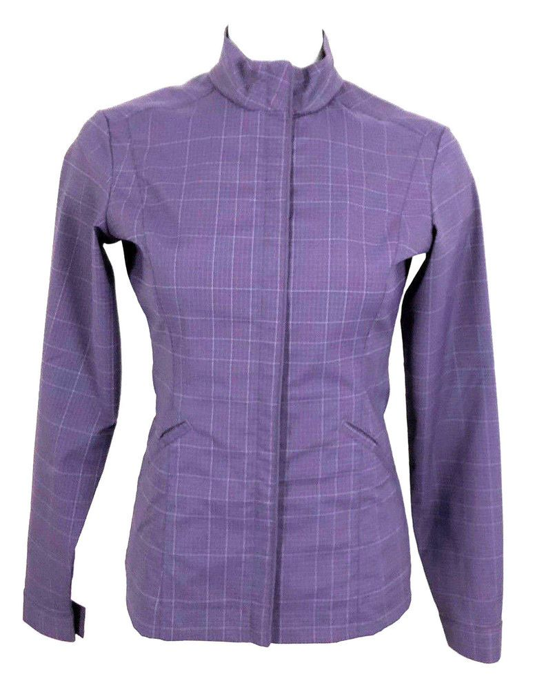 389804fb NIKE Purple Fit Dry Golf Jacket XS (0-2) Full Zip Stripes Long Sleeve  Women's #NikeGolf #AthleticJackets