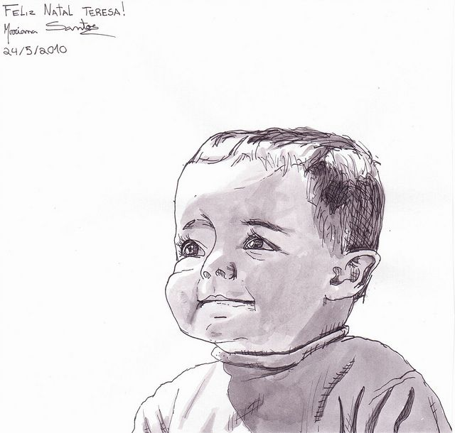 My sister when she was a baby by mariana95santos, via Flickr