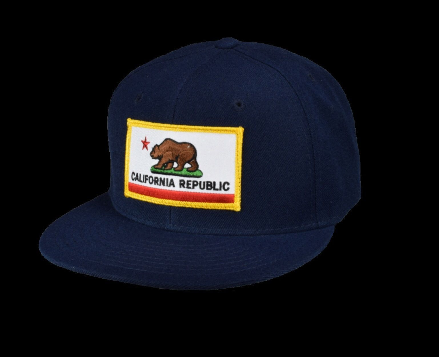 California Flag - Navy Blue Snapback