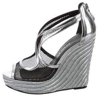 eb4729daa3f Pierre Balmain Espadrille Wedge Sandals   Shoes   Wedge sandals ...