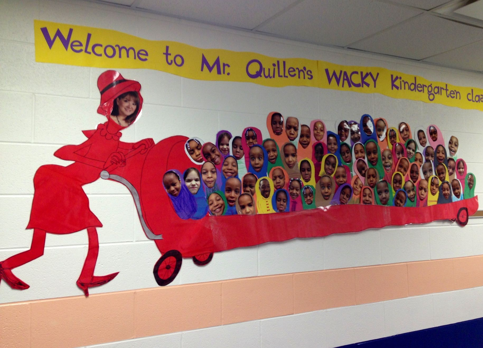 Wacky Wednesday Hall Decoration My Students Came Up With This Idea And I Ran With It