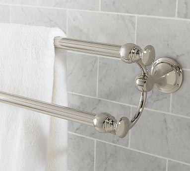 Mercer Double Towel Bar Bathroom Towel Bar Bath Towel Racks