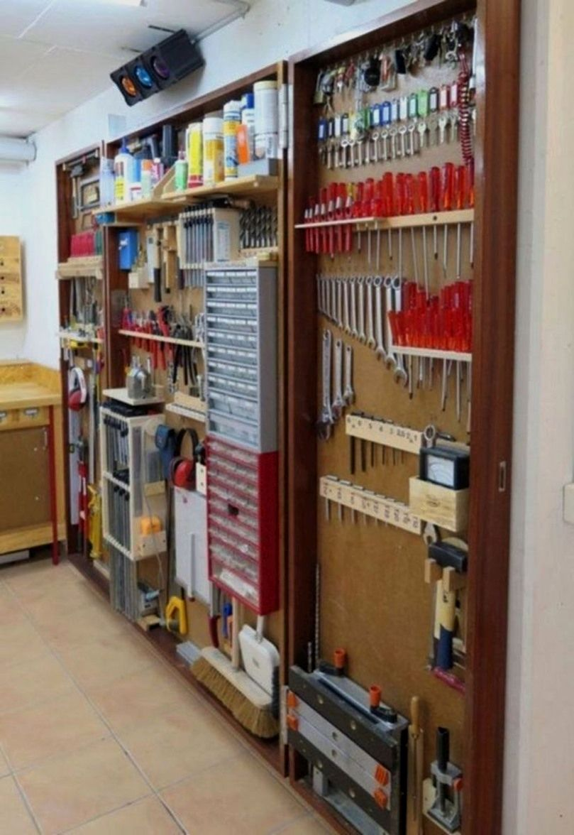 Diy Hanging Garage Storage Shelves