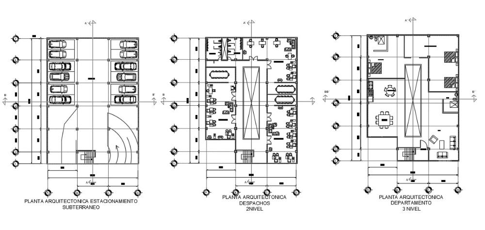 3 Storey Commercial Building Floor Plan Commercial Building Plans Floor Plans How To Plan