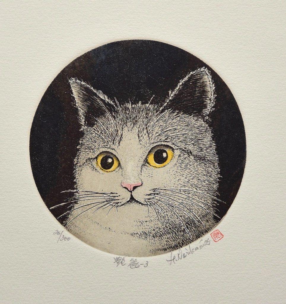 Tanrei 3 (Graceful Cat III) Cat art, Cat allergies, Cats