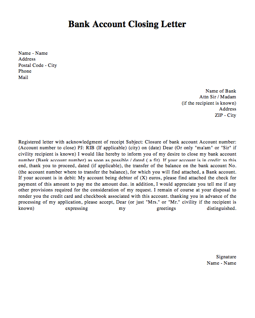 request letter for closing current account bank account closing letter template http 28