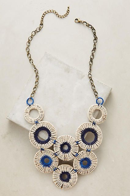 Vespri Bib Necklace - anthropologie.com