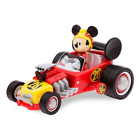 Mickey And The Roadster Racers Wind Up Race Car With Images