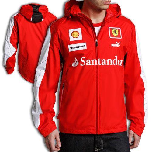 Puma Ferrari Sf Hooded Red Team Jacket The Best Ferrari Apparel 1 Shop Team Jackets Bugatti Shopping Outfit