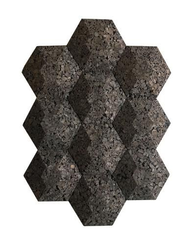 Acoustic Wall Panels 9 5 Inch Diameter Sound And Thermal Control Cork Wall Tiles Acoustic Wall Acoustic Wall Panels