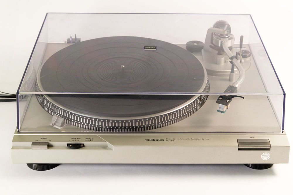 Vintage technics sl-d2 direct drive automatic turntable with 270c