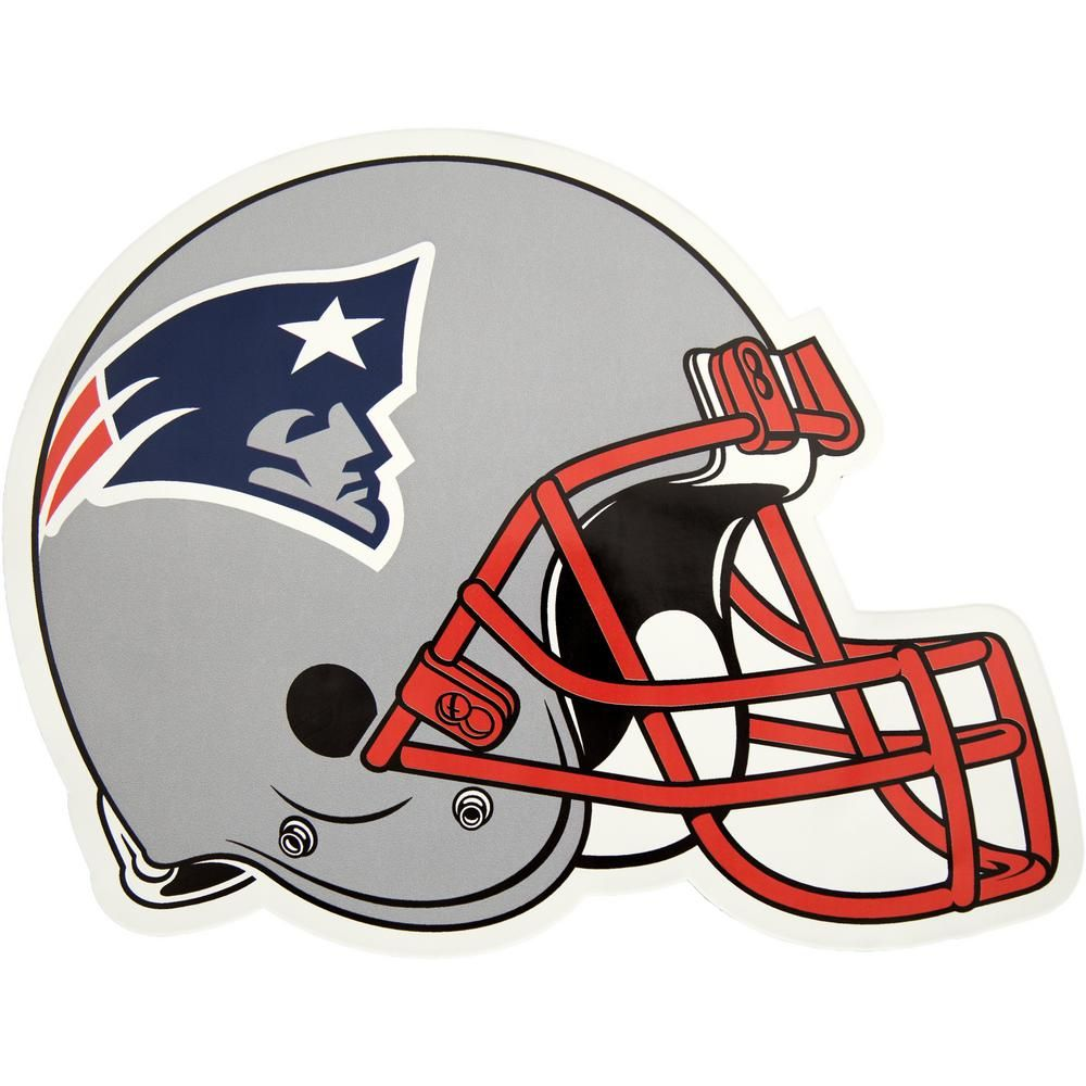 Applied Icon Nfl New England Patriots Outdoor Helmet Graphic