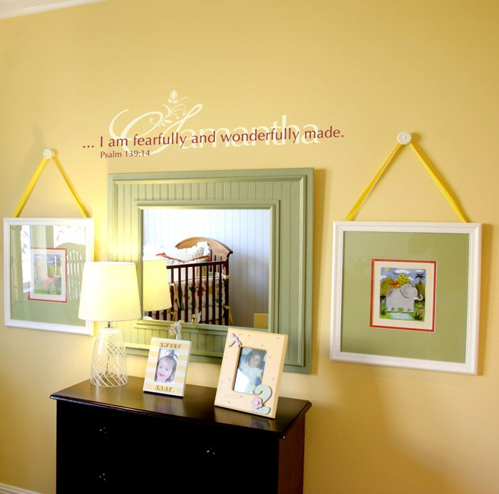 Fearfully and Wonderfully made | Home looks I love | Pinterest ...