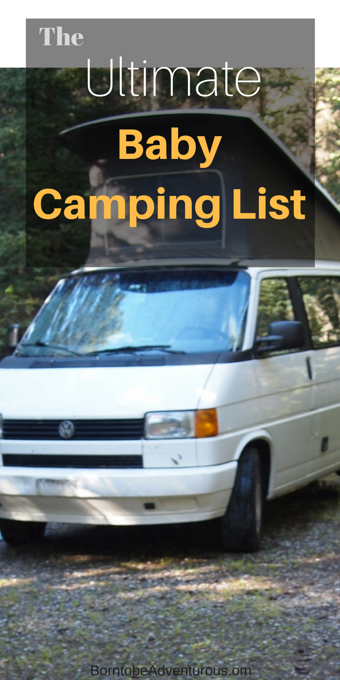 Packing list for baby outdoor adventures pinterest camping
