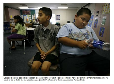 Feds Most States Failing To Meet >> Feds Most States Failing To Meet Special Ed Obligations Pinned By