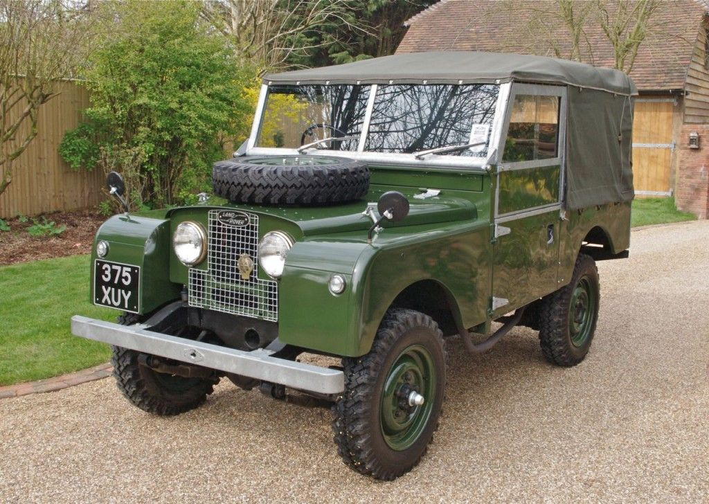 card with engine sound inside. series 1 Land Rover RO4